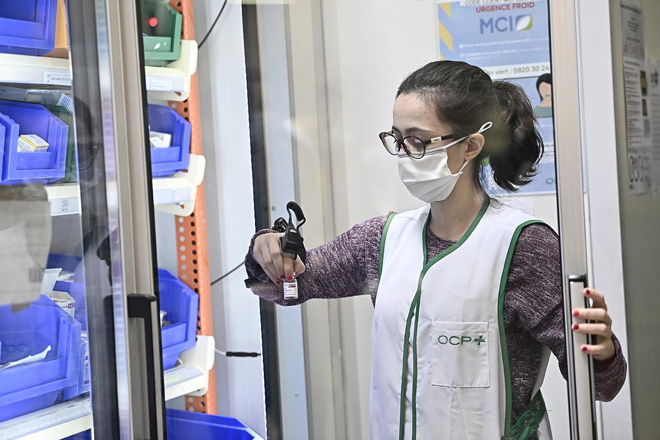 OCP a distribué ses premiers vaccins AstraZeneca