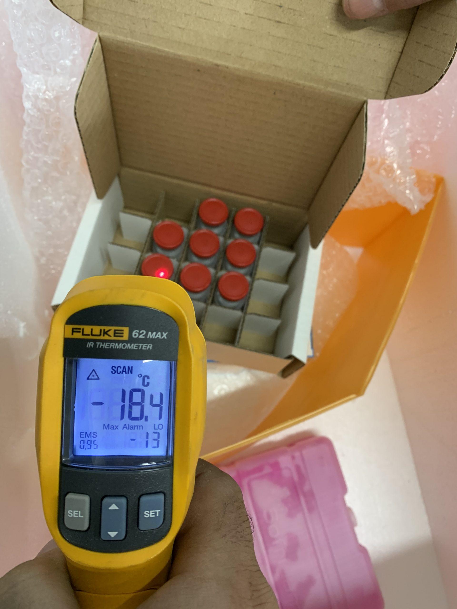 vaccin covid thermomètre température